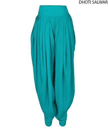 Turquoise Genie Pants