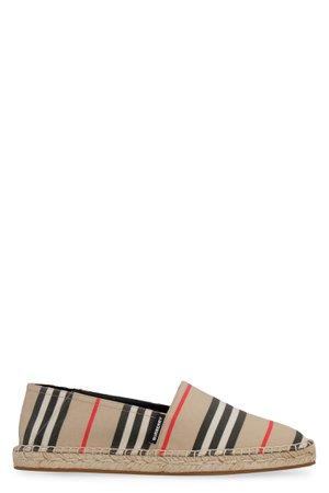 Burberry Canvas Espadrilles