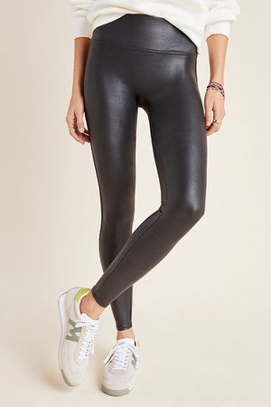 Spanx Faux Leather Leggings | Anthropologie