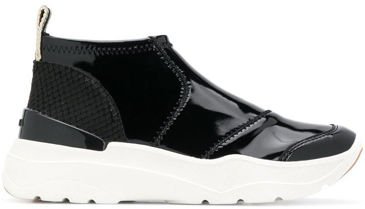 Lash chunky sole sneakers