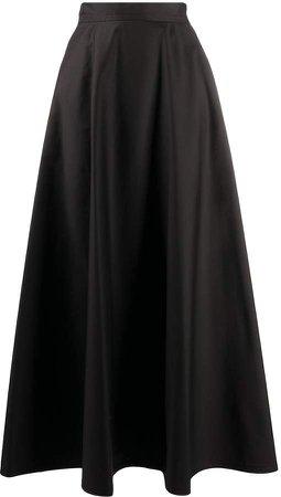 full, long skirt