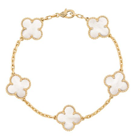 van cleef vintage alhambra bracelet £3250