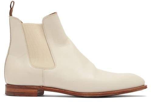 Hillier Bartley - X Crockett & Jones Bonnie Leather Chelsea Boots - Womens - Ivory