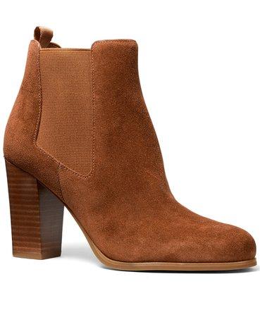 Michael Kors Lottie Booties & Reviews - Boots - Shoes - Macy's