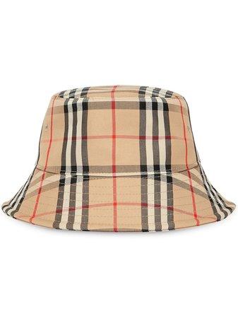 Burberry Vintage Check Bucket Hat - Farfetch