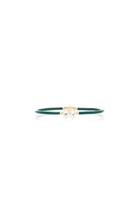 Bea Bongiasca Marquise Cut Vine Bracelet