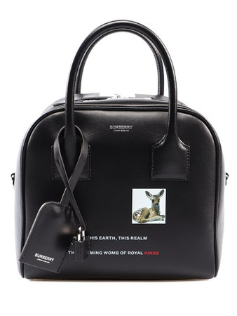 Burberry Small Bowling Tote