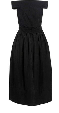 Porcia Off-The-Shoulder Cotton Dress