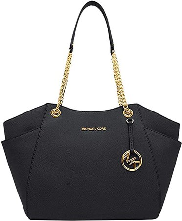 Michael Kors Women's Jet Set Travel - Large Chain Shoulder Tote: Michael Kors