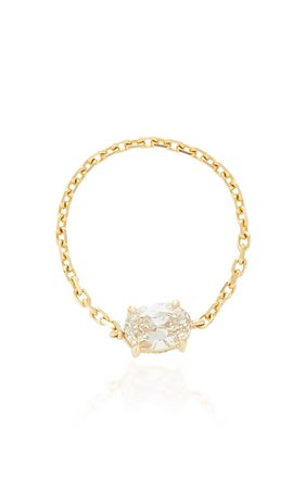 18K Gold And Diamond Ring by Yi Collection | Moda Operandi