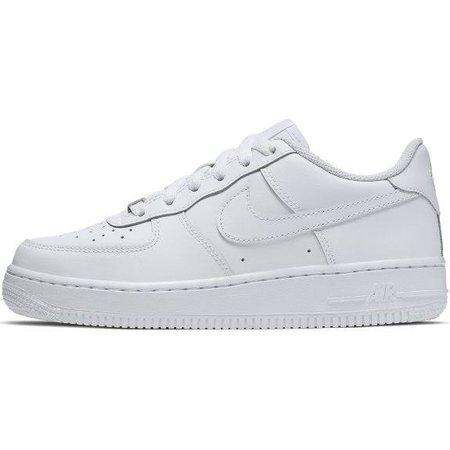 Nike Air Force 1 Older Kids' Shoe - White