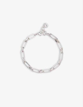 THE WHITE COMPANY - Chain silver-plated bracelet | Selfridges.com