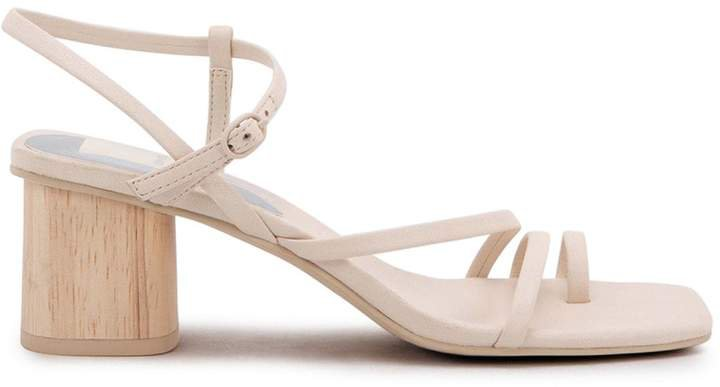 Zyda Leather Ankle-Strap Sandals