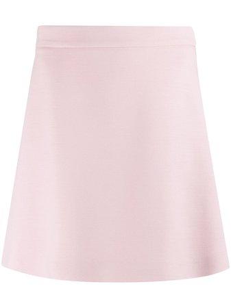 Prada A-Line Shorts Skirt P196QS2011E7P Pink | Farfetch