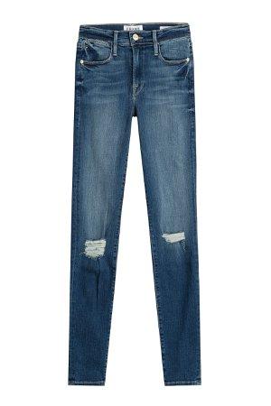 Le Skinny De Jeanne Distressed Jeans Gr. 29