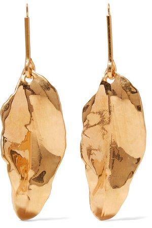 Marni | Gold-plated earrings | NET-A-PORTER.COM