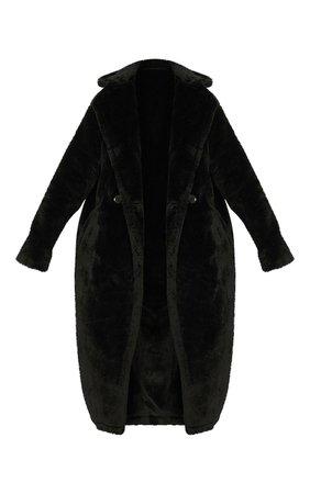 Brown Faux Fur Coat   Coats & Jackets   PrettyLittleThing