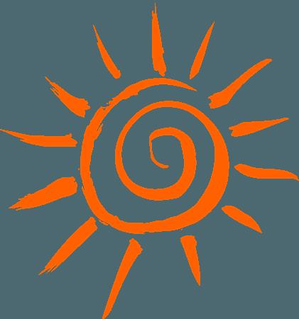 Sun Orange - Free vector graphic on Pixabay