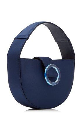Demi Lune Mini Satin Top Handle Bag By Imago-A | Moda Operandi