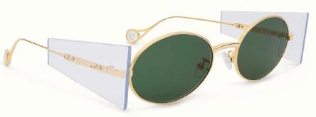 Fenty   Side Note Sunglasses Camo Green 2/20 (1)