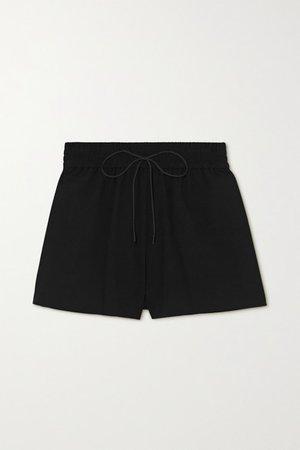 Alice Olivia - Carson Crepe Shorts - Black