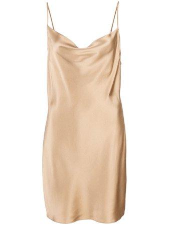 Fleur Du Mal Short Slip Dress Aw19 | Farfetch.com