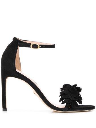 Stuart Weitzman, Nudistsong Flower Sandals