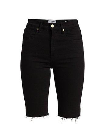 Frame Le Vintage Bermuda Shorts | SaksFifthAvenue