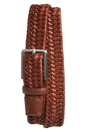 Nordstrom Braided Leather Belt | Nordstrom