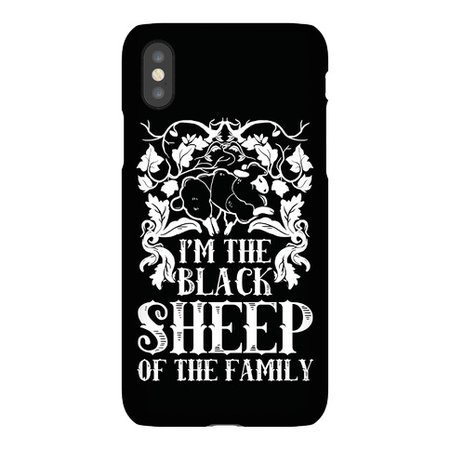 I'm The Black Sheep Of The Family Phone Case | LookHUMAN
