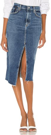 Aubrey Front Slit Maxi Skirt
