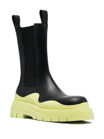 Bottega Veneta BV Tire Ankle Boots - Farfetch