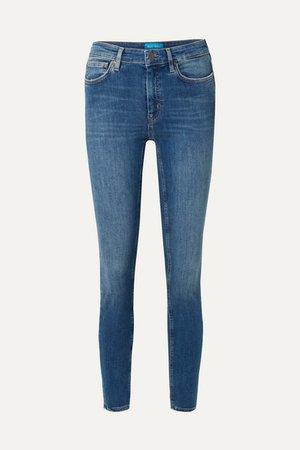 M.i.h Jeans | Bridge high-rise skinny jeans | NET-A-PORTER.COM
