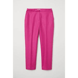Linen Dress Pants (Cerise)