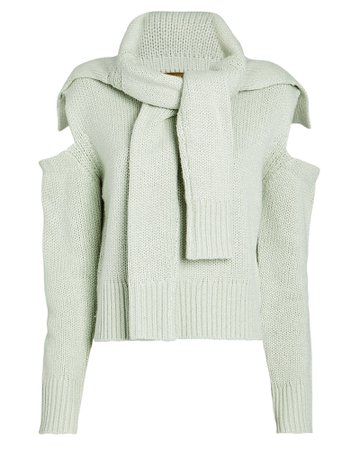 Hellessy | Kruger Silk-Cashmere Tie Sweater | INTERMIX®