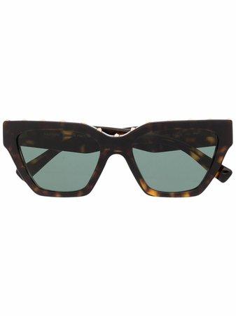 Valentino Eyewear Studded cat-eye Frame Sunglasses - Farfetch