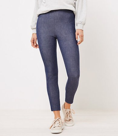 The Tall Side Zip High Waist Skinny Pant