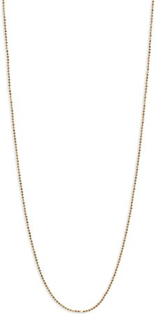 Icons 20-Inch Ball Chain Necklace
