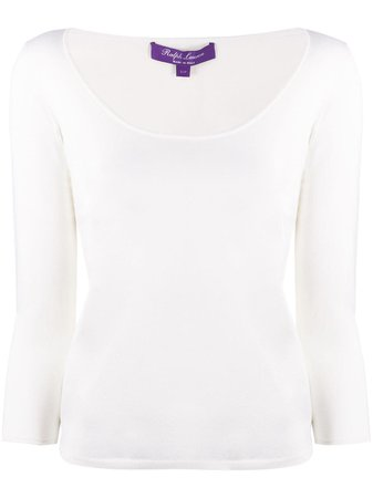 Ralph Lauren Collection Jersey Top Ss20 | Farfetch.com