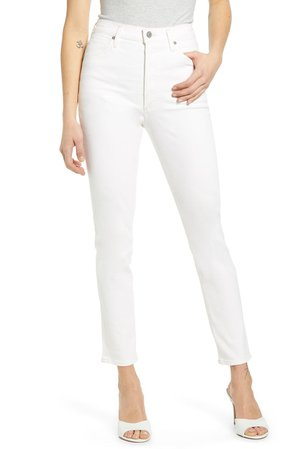 Citizens of Humanity Olivia High Waist Slim Jeans (Zen) | Nordstrom