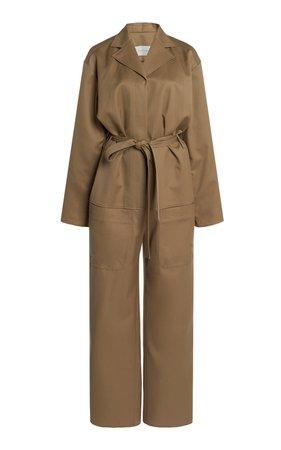 Belted Wool Utility Jumpsuit by Low Classic | Moda Operandi