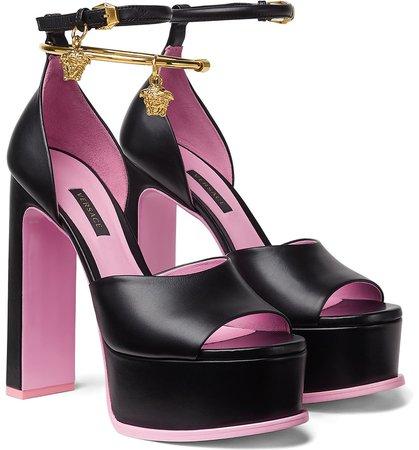 Versace Medusa Aeternitas Platform Sandal (Women) | Nordstrom
