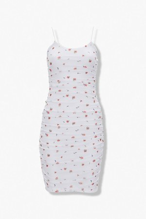 Floral Bodycon Mini Dress | Forever 21