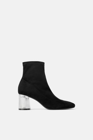 METHACRYLATE - HEEL STRETCH ANKLE BOOTS-Ankle boots-SHOES-WOMAN | ZARA United Kingdom