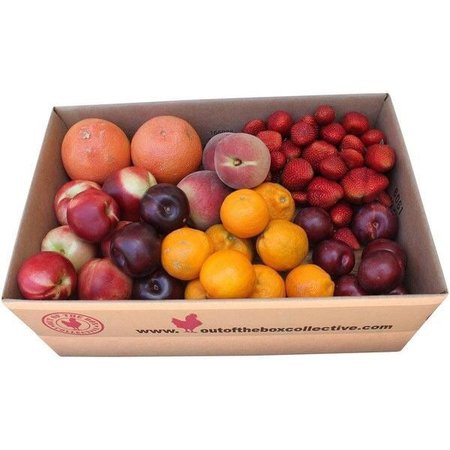 box of assorted fruit