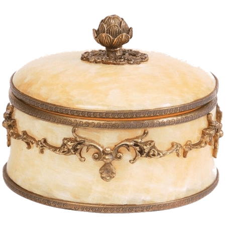 fancy marble jewelry box png