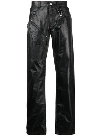 1017 ALYX 9SM mid-rise straight-leg Trousers - Farfetch