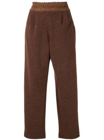 Framed Match Straight Trousers - Farfetch