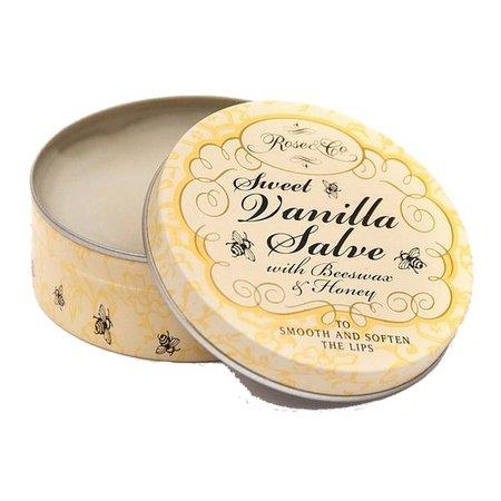 Sweet vanilla balm