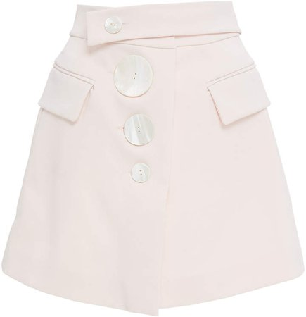 Acler Lynne High Waisted Mini Skirt